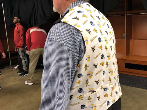 A Tradition Unlike Any Other: Bob Huggins Showed Up To Big 12 Media Day Dripping In  Sex Appeal