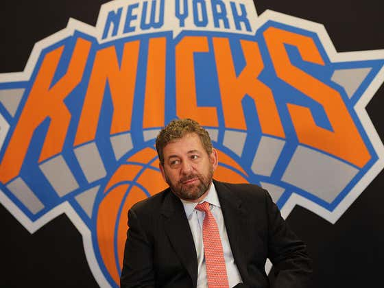 James Dolan Being The Reason Danny Ainge Didn't Trade For Kristaps Porzingis Is Too Perfect