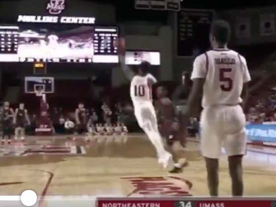 This Is One Of The Most Ridiculous Full Court Shots At The Buzzer ... Oh, It Also Hit The Over Because Of Course It Did