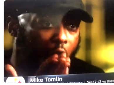 I Hope Obj Doesn T Forget This Yawn That Mike Tomlin Gave
