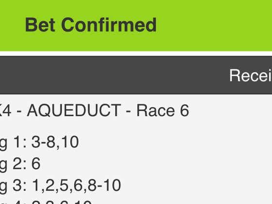 BlackJack and Lo Duca's Aqueduct Pick Four