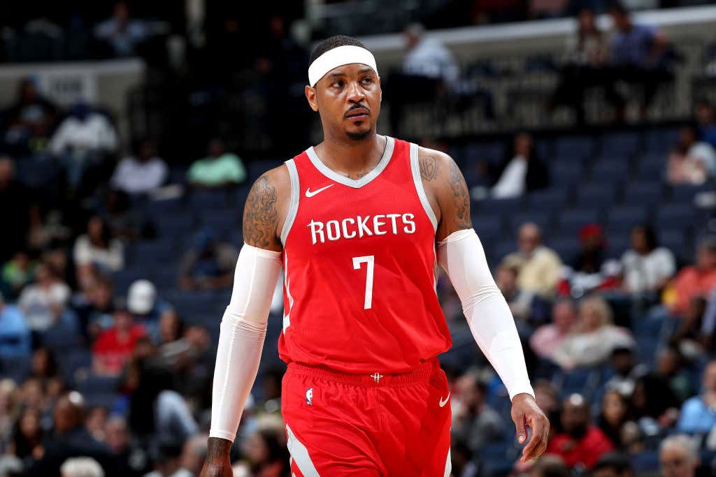 It Sounds Crazy But There Are Actual Ways Melo Can Really Help The Blazers
