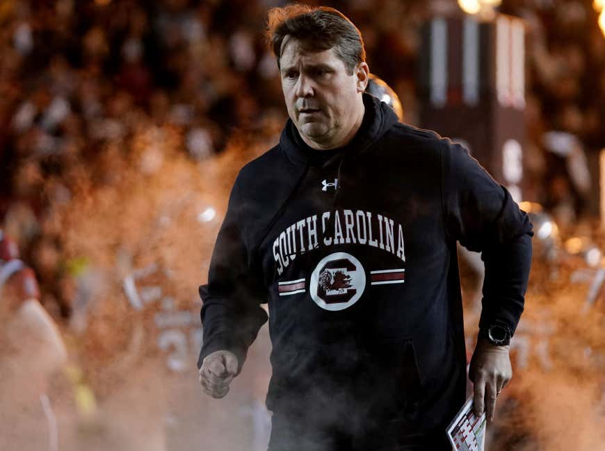 South Carolina Staffer Fired After Fighting Guy Dressed As Will Muschamp With Buyout Check On Halloween