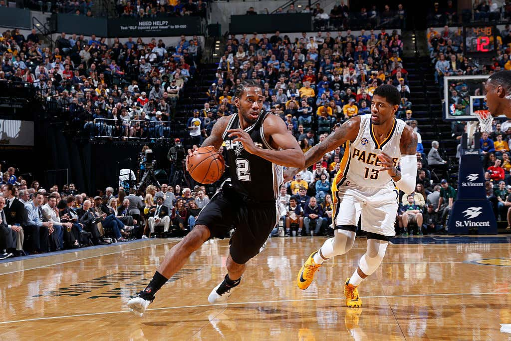 Paul George Wanting To Be Traded From The Pacers To The Spurs In 2017 Is A Great NBA \
