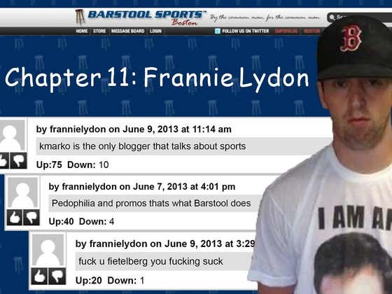 "The Barstool Documentary Series | Chapter 11 ""Frannie Lydon"""