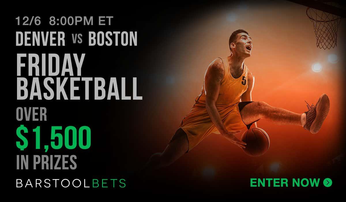Friday Basketball - Denver @ Boston