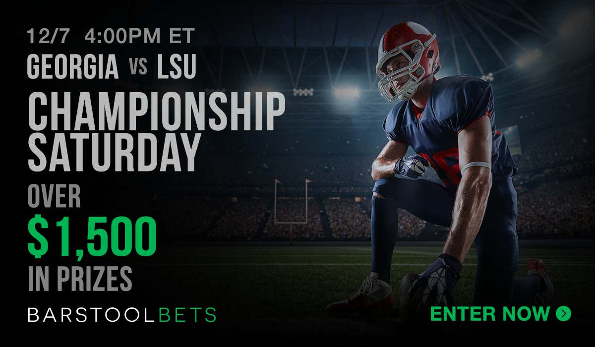 Championship Saturday - Georgia vs LSU