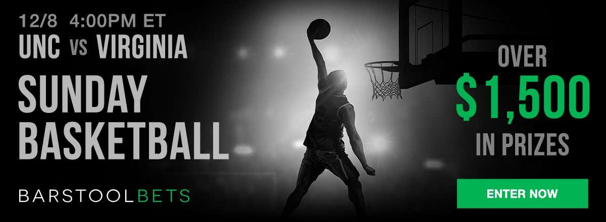 Sunday Basketball - UNC @ Virginia