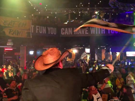 VIDEO: Wolfpack's Full Canadian Grey Cup Adventure