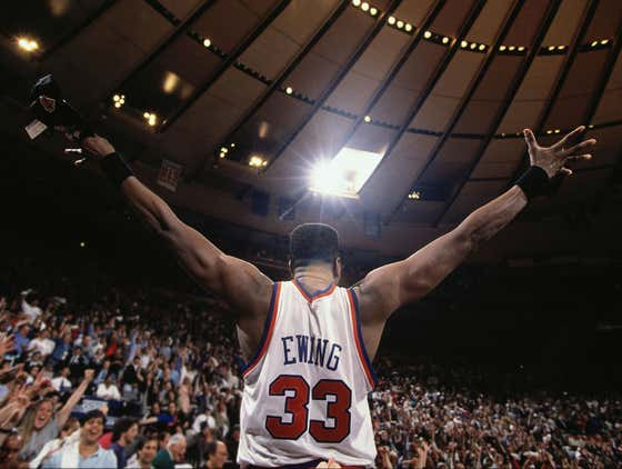"""Patrick Ewing Said That He Is Always Being Stopped By Security At Madison Square Garden To Show His ID Pass Even Though It's """"My House"""""""