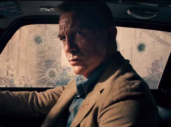 Trailer For 25th James Bond Movie Is Here, With Ana de Armas, And Rami Malek As Villain
