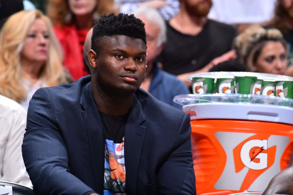 There's A Strong Chance We Don't See Zion Williamson Play In 2019