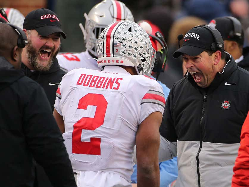 After Jim Harbaugh Snitched On Him, Ryan Day Told Ohio State The Big Ten Better Have A Mercy Rule This Year Because They're Gonna Hang 100 On Michigan