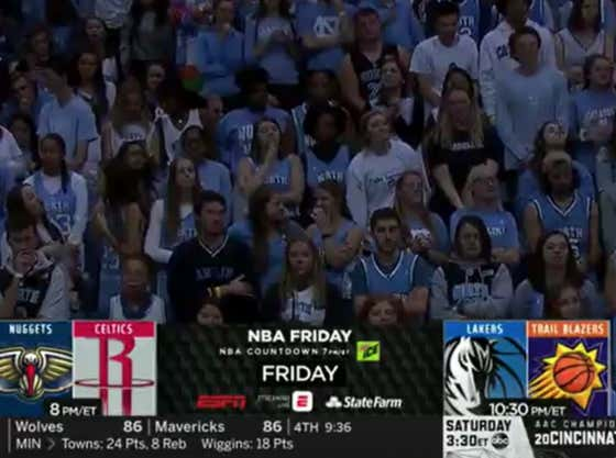 Mail Time Hall Of Fame Nominee: ESPN Graphics Department Goes 0 For 4 With 'NBA Friday' Team Logos