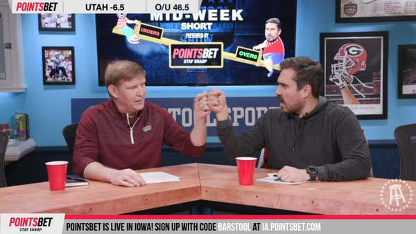 PointsBet Mid Week Short - Week 15