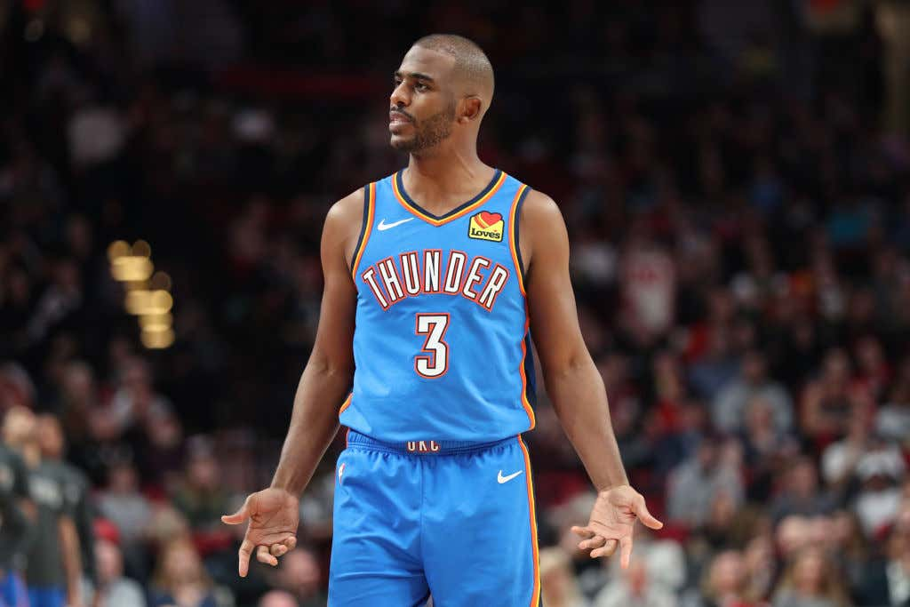 'Daryl Told Me A Couple Days Before He Wouldn't Trade Me To OKC' - Chris Paul, Still Baffled The Rockets Actually Traded Him