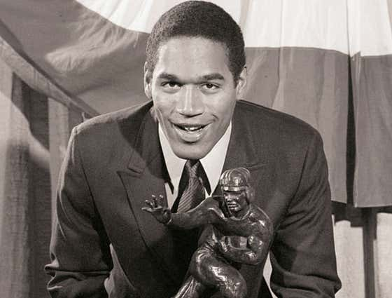 The Wild Story Of OJ Simpson's Heisman: The Guy Who Bought The Stolen Trophy From A Friend Who Had It Buried In His Backyard — For $600 And A Used Car — Slept With It On The Streets Of Los Angeles While He Was Homeless