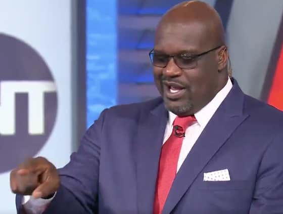 Shaq Dropped A Story Last Night Confirming That Stevie Wonder Is Not Blind, He's Just A Big, Fat Liar