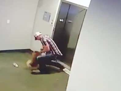 Man Rescues Pup From The Death Grip Of An Elevator
