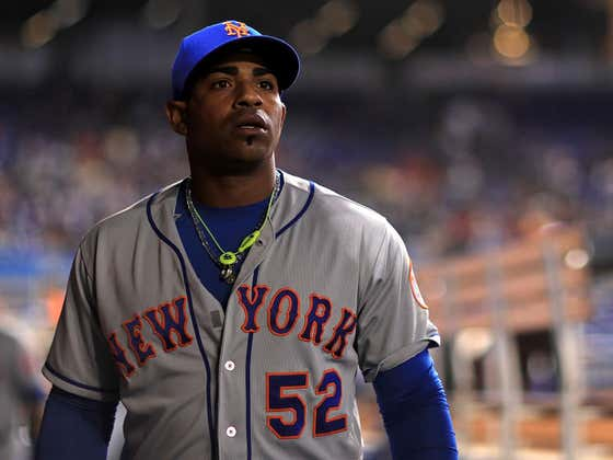 It Turns Out Yoenis Cespedes Wasn't At Today's Game Vs. The Braves Because He Opted Out Of The Season But Didn't Tell The Mets