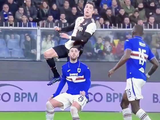 I Cannot Stop Watching This Cristiano Ronaldo Header, He May Not Be Human