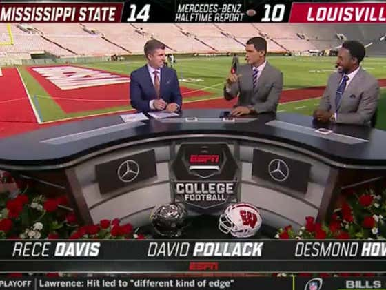 Did Someone At ESPN Leave Their Porn On During The Louisville-Miss State Halftime Show?