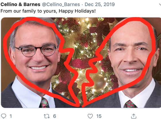 Wait To Call 8: Our Law Dads, Cellino And Barnes, Have Officially Divorced
