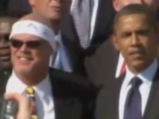 Jim McMahon Bringing A Thong To The White House For Obama Is Incredible