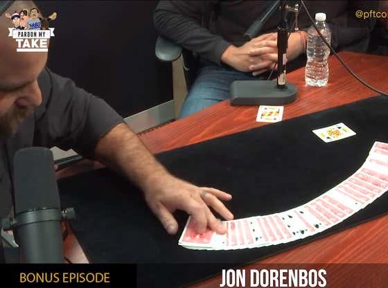 BONUS PMT: Former NFL Long Snapper And Magician Jon Dorenbos