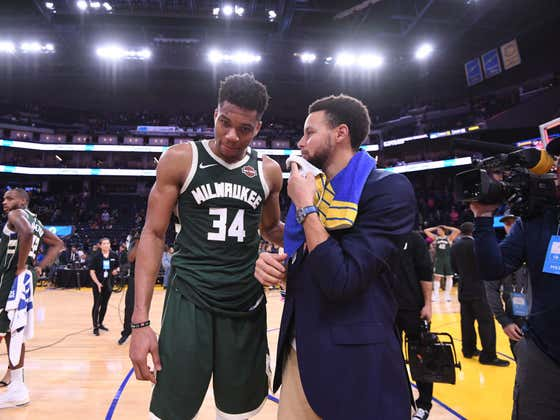 Steph Curry's Explanation Of What He Actually Said To Giannis Is Laugh Out Loud Funny