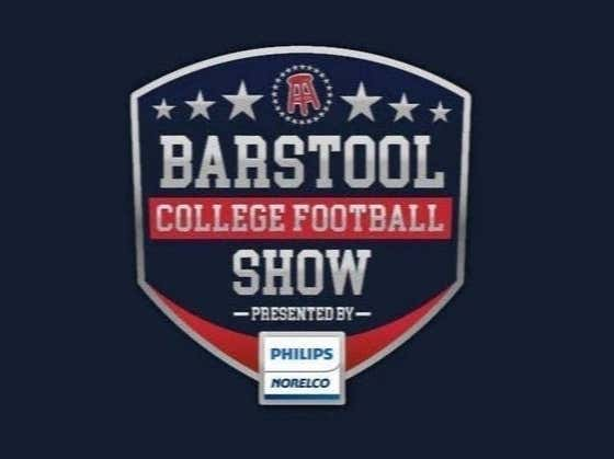 Barstool College Football Show presented by Philips Norelco - National Championship Edition