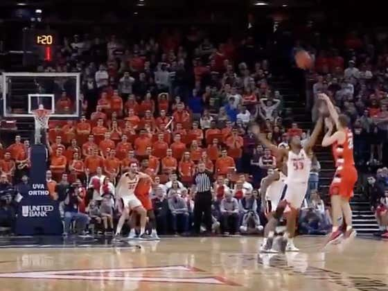 Syracuse/Virginia Hitting The Over Is A Travesty And Needs To Be Investigated