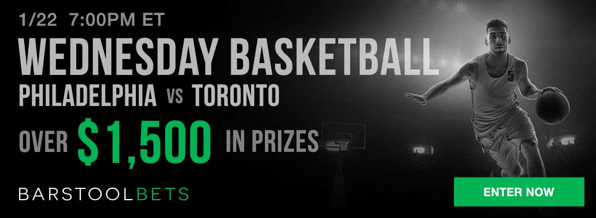 Wednesday Basketball - Philadelphia @ Toronto