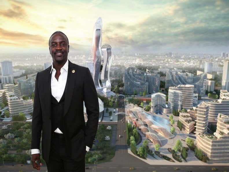 Akon Is Building His Own Futuristic City In Africa Called Akon City Which Will Exclusively Use His Own Cryptocurrency Called Akoin