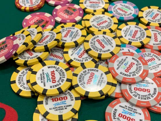 If You've Always Wanted To Play A WSOP Event This Is A Great Year To Do It As They Now Have 25 Events That Are $1,000 Or Less
