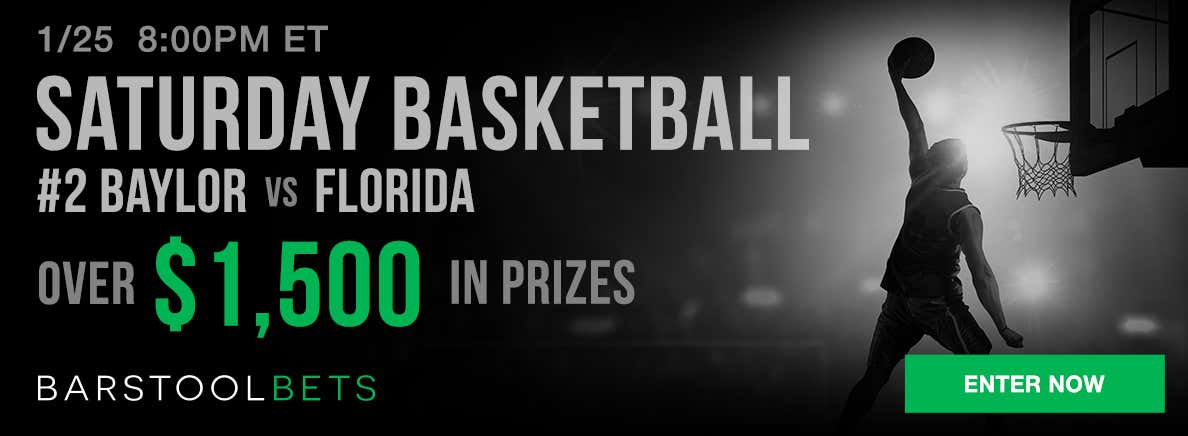 Saturday Basketball - Baylor @ Florida