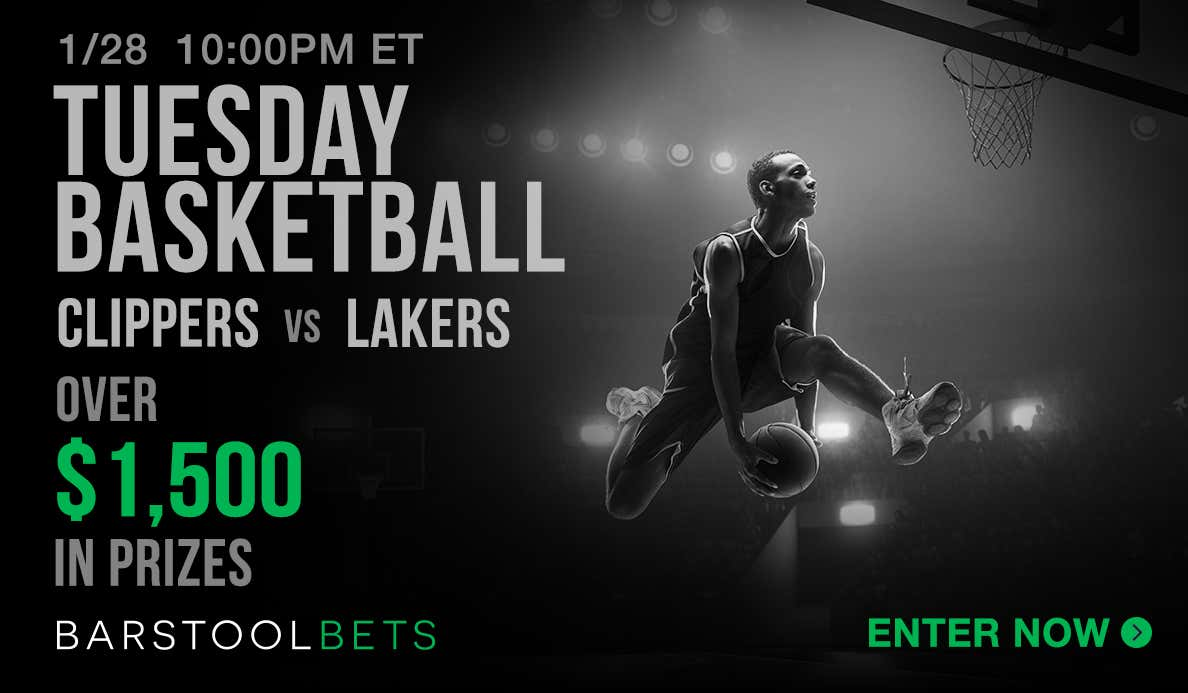 Tuesday Basketball - Clippers @ Lakers