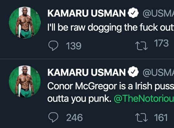 It Appears UFC Champ Kamaru Usman Has Been Hacked On Twitter