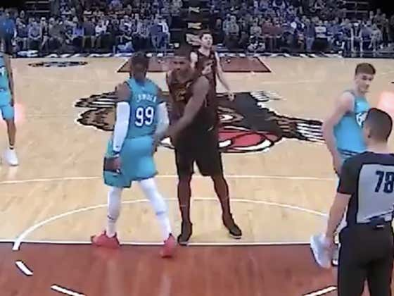 Tristan Thompson Got Ejected Last Night For Slapping Some Butt Cheeks