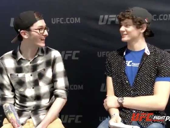 Did 20-Year-Old UFC Fighter Chase Hooper And I Just Become Best Friends?