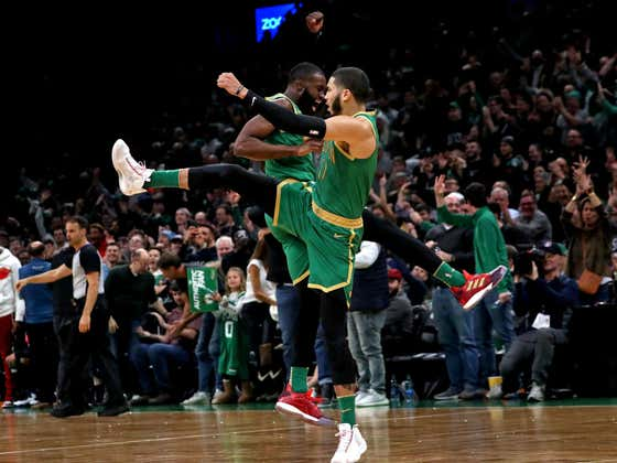 Jaylen Brown And Jayson Tatum Both Being All Stars Is The Best News I've Had In Weeks