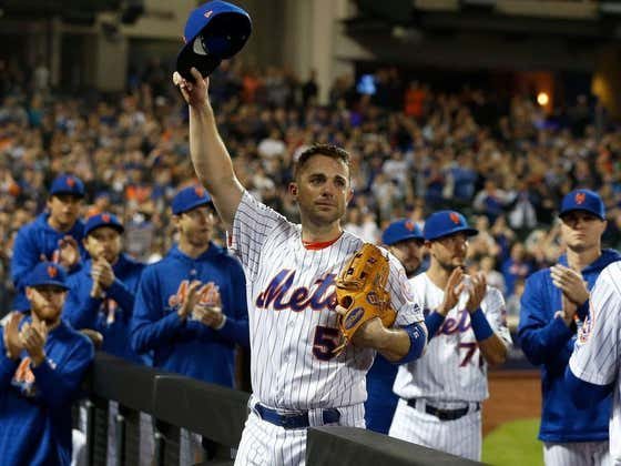 Mets Fans Can Officially Cross Off David Wright As A Potential Managerial Replacement For Carlos Beltran