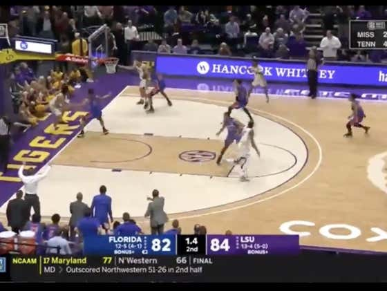 Florida hits a layup in the final seconds to cover +3