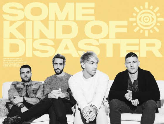 Wake Up With All Time Low's New Single 'Some Kind Of Disaster'