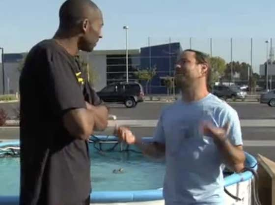 TBT: Kobe Bryant Jumping Over A Pool Full Of Snakes With The Jackass Crew