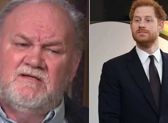 Meghan Markle's Dad Has Challenged Prince Harry To a Duel, Telling Him To Man Up