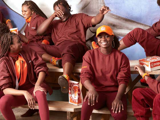 You Can Now Dress Just Like A Popeyes Worker After They Launched Their Own Clothing Line