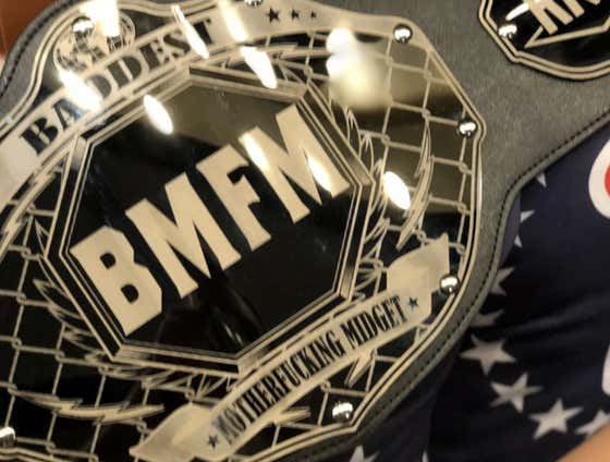 BREAKING: THE BMFM BELT HAS ARRIVED FOR ROUGH N ROWDY 11