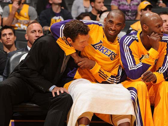 OF COURSE Kobe Spent Hours Practicing Drinking Games After Luke Walton Taught Him How To Play