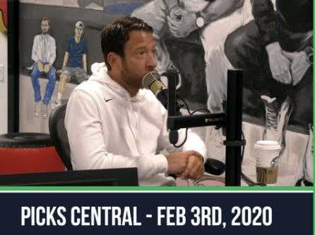 Picks Central - February 3, 2020